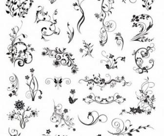 Vintage Ornamental Design Elements Vector