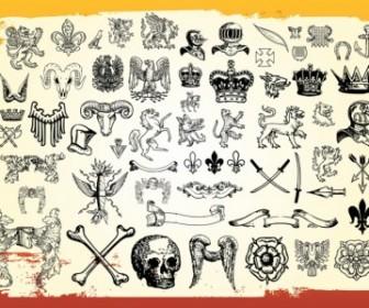Antique Heraldry Vector