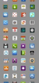 Beautiful Mobile Phone Icon Vector Icandies
