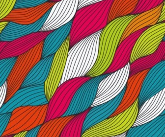 Abstract Colored Design Background Vector