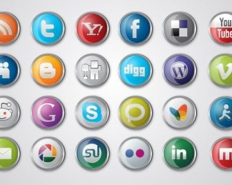 Vector Social Media Icon Pack