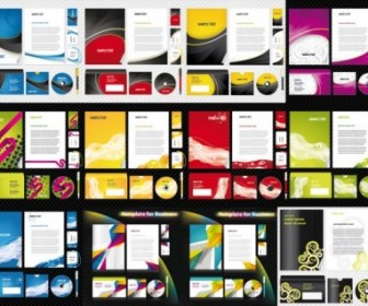 Free 12 Sets Of Basic Vi Template Vector Business
