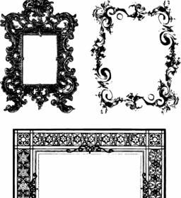 Fancy Frames Ornate Borders Vector