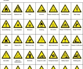 Sign Hazard Warning Clip Art Vector