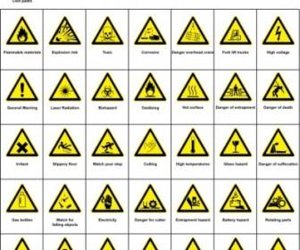 Sign Hazard Warning Clip Art Vector