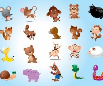 Animal Characters Vector Pack