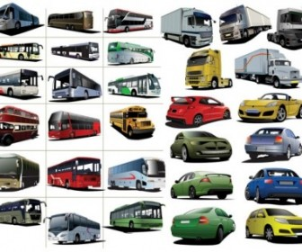 Collection Car Vector Pack