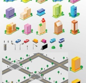 City Building Vectors Vector Misc
