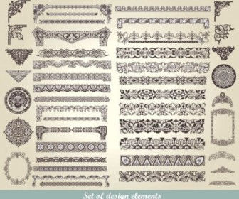 European Classic Lace Pattern Vector Background