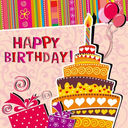 Cartoon birthday card vector background ai svg eps vector free preview this vector bookmarktalkfo Choice Image