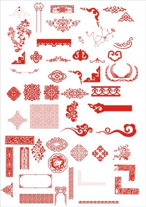 The chinese classical boutique pattern vector decoration ai svg preview this vector yelopaper Gallery