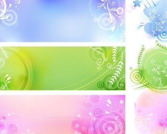 Free Vector Colorful Backgrounds Pack