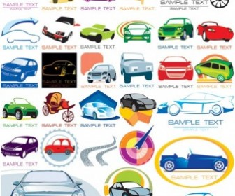 The Car Icon Vector Pack