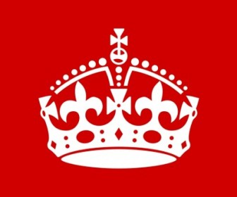 British Crown Vector Clip Art