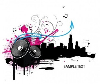 Music Vector Illustration Vector banner