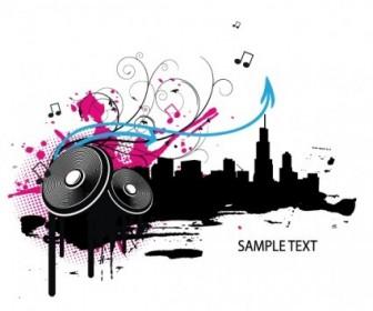 Music Vector Illustration Vector banner