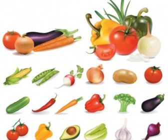 Vegetables Vectors Pack