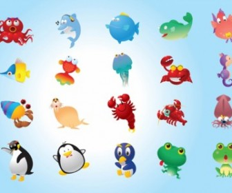 Cute Animals Vector Misc Pack