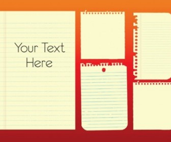 Note Paper Vector Graphics