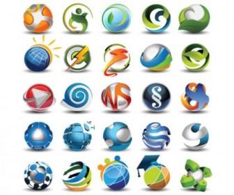 Beautifully Circular Icon Vector Pack