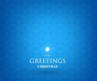 Blue Abstract Background Vector Card