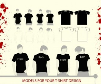 T-Shirt Illustrations Vector Pack