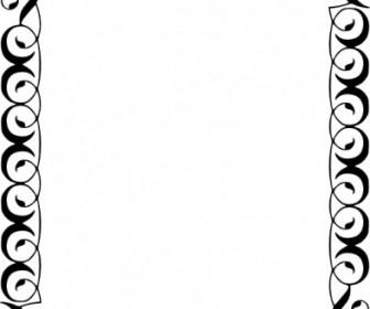 Decorative Border Clip Art Vector Clip Art - Ai, Svg, Eps Vector ...