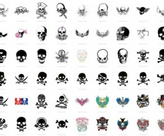 Trend Of Skull Vector Pack