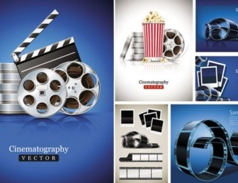 Movie Equipment Picture Frame Clip Art Vector