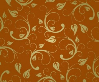 Abstract Floral Pattern Vector Background