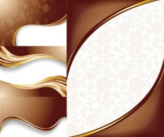 Chocolate Dynamic Lines Of The Background Vector Vector Background
