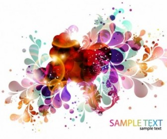 Colorful Abstract Design Background Vector
