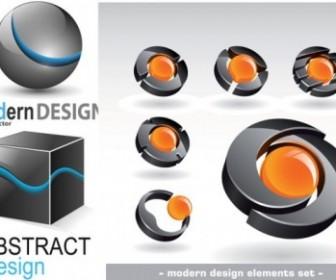 3D Graphics Logo Vector