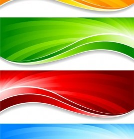 Colorful Banner Vector Pack