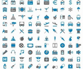 200 Free Web Icons Vector Pack