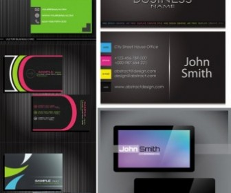 Simple Business Card Templates Vector