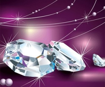 Diamond Free Vector CLip Art