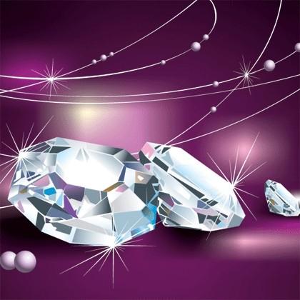 Diamond graphic design