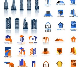 Real Estate Logo Vector Pack