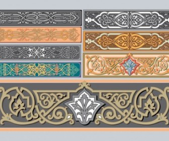 Art Nouveau Ornaments Vector