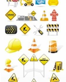 Fine Vector Construction Traffic Icon