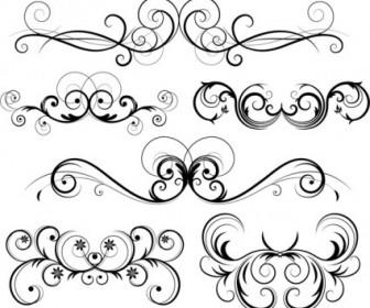Free Ornate Vector Swirls Floral