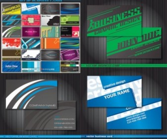Special Business Card Template Vector Vector Misc