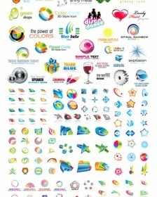 Variety Of Threedimensional Icon Vector Vector Icon