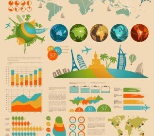 Pro Infographic Data Report Vector Template