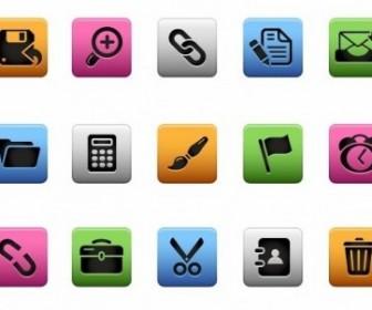 Web Interface Icons Vector Web Button
