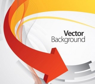 Vector Dynamic Arrow Background