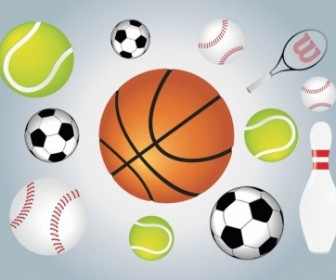 Ball Sports Illustration Vector Pack