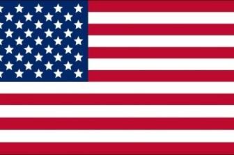 Usa Flag Vector Clip Art