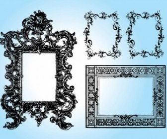 Art Frames Vector Decoration